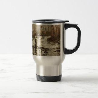 Fly Fisherman Travel Mug