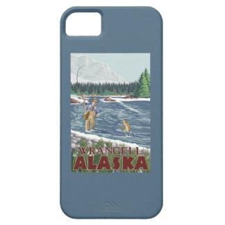 Fly Fisherman - Wrangell, Alaska iPhone 5 Case