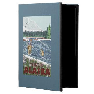 Fly Fisherman - Yukon, Alaska Case For iPad Air