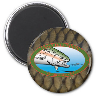Fly Fishers Club 2 Inch Round Magnet