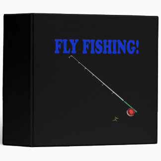 Fly Fishing 2 3 Ring Binder