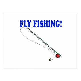 Fly Fishing 2 Postcard