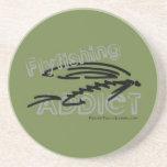 Fly Fishing Addict Coaster