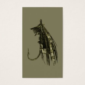 Fly Fishing Art Business Card