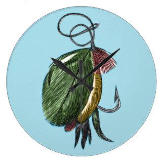 Fly Fishing Art Clocks