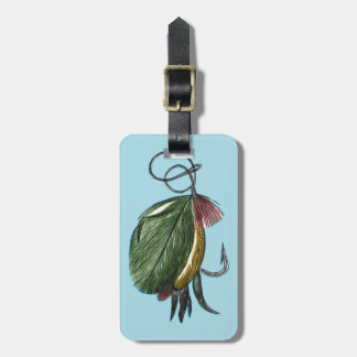 Fly Fishing Art Tags For Bags
