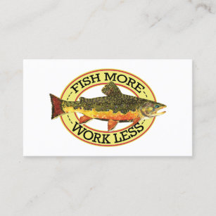 Fishing business cards templates zazzle fly fishing business card colourmoves