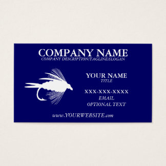 FLY FISHING - Business Card Template