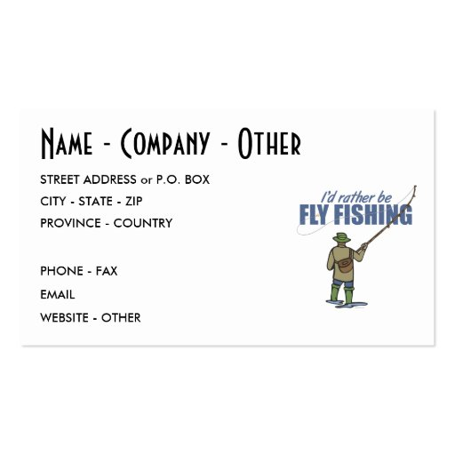 Fishing business cards business card templates bizcardstudio for Fishing business cards