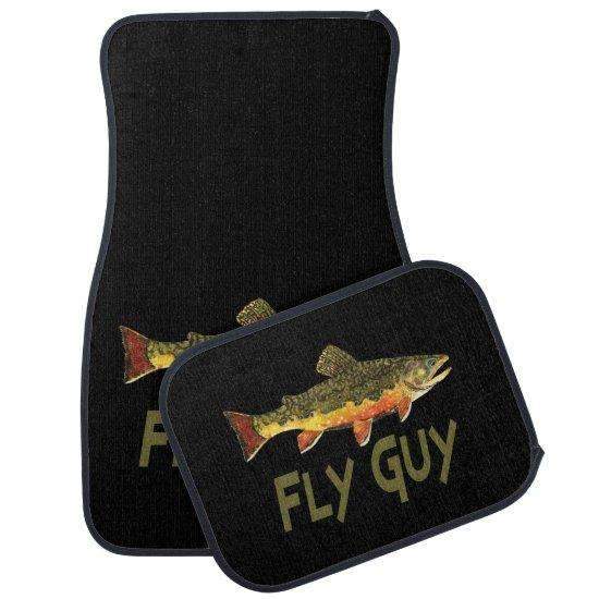Fly Fishing Car Floor Mat