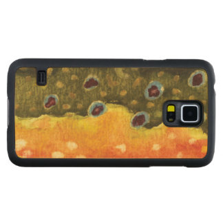 Fly Fishing Carved® Maple Galaxy S5 Slim Case