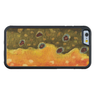 Fly Fishing Carved® Maple iPhone 6 Bumper Case