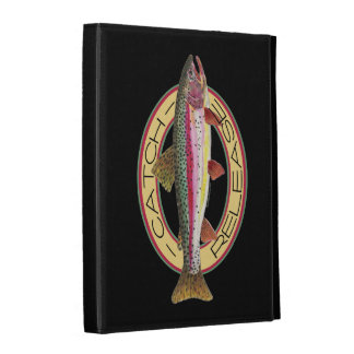 Fly Fishing Catch & Release iPad Folio Cover