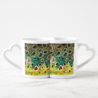 Fly Fishing Couples Coffee Mug