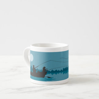 Fly Fishing Espresso Cup