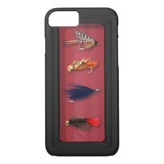 Fly Fishing flies iPhone 7 Case