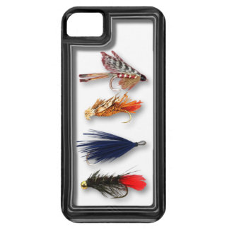 Fly fishing flies - realistic box iPhone 5 case