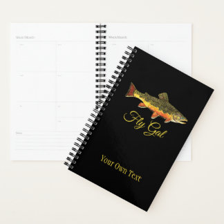 Fly Fishing FLY GAL Ladies Planner