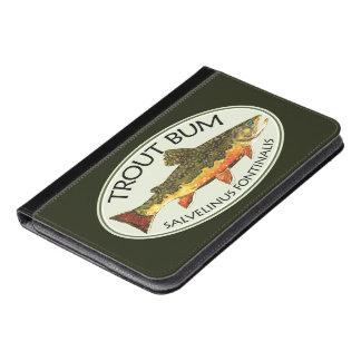 Fly Fishing Funny TROUT BUM iPad Mini Case