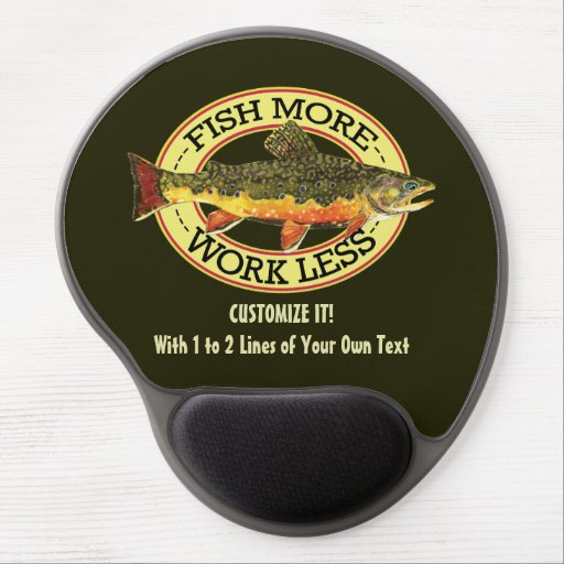 Fly Fishing Gel Mouse Mats