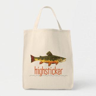 Fly Fishing Highsticker Canvas Bag