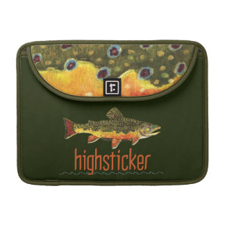 Fly Fishing Highsticker MacBook Pro Sleeves