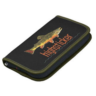 Fly Fishing Highsticker Folio Planners