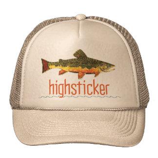 Fly Fishing Highsticker Trucker Hat