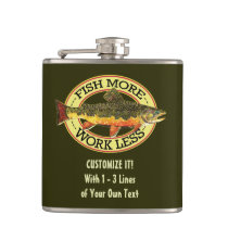 Fly Fishing Hip Flask