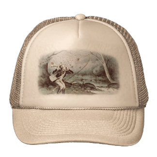 Fly Fishing in 1879 Trucker Hat