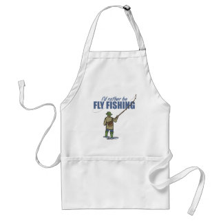 Fly Fishing in Waders Adult Apron
