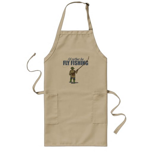 Fly Fishing in Waders Apron