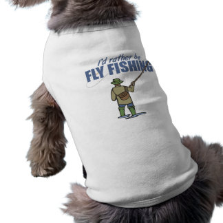Fly Fishing in Waders Shirt