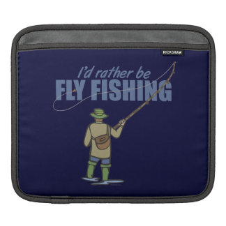 Fly Fishing in Waders Sleeve For iPads