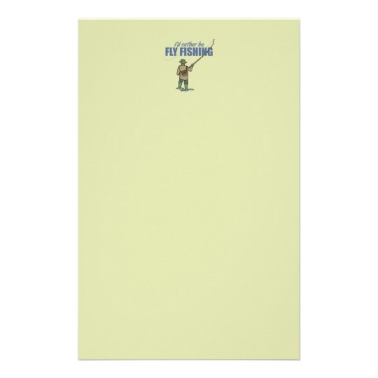 Fly Fishing in Waders Stationery