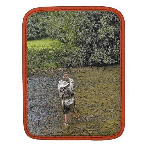 fly fishing iPad sleeve