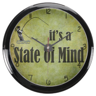 Fly Fishing | It's a State of Mind Aquarium Clocks