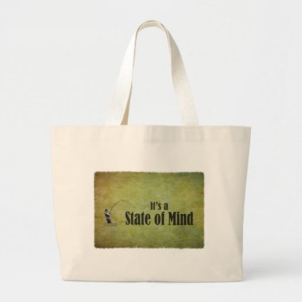 Fly Fishing | It's a State of Mind Canvas Bag