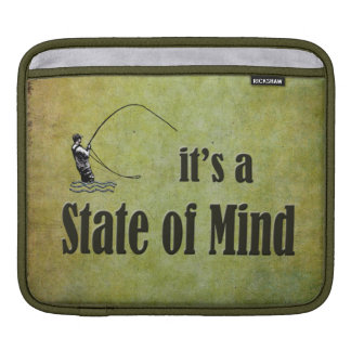 Fly Fishing | It's a State of Mind iPad Sleeves