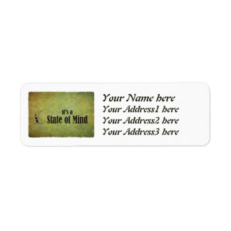 Fly Fishing | It's a State of Mind Return Address Label
