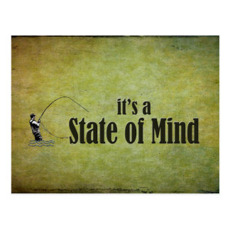 Fly Fishing | It's a State of Mind Postcard