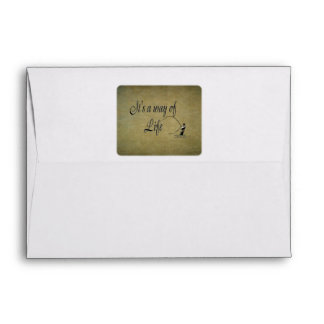 Fly-fishing - It's a Way of Life Envelope