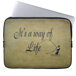 Fly-fishing - It's a Way of Life Laptop Computer Sleeves