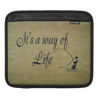 Fly-fishing - It's a Way of Life Sleeve For iPads