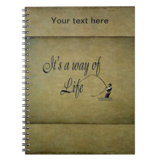 Fly-fishing - It's a Way of Life Spiral Notebook