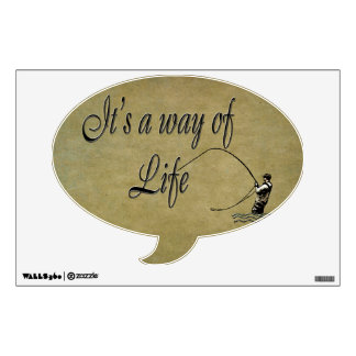 Fly-fishing - It's a Way of Life Wall Skin