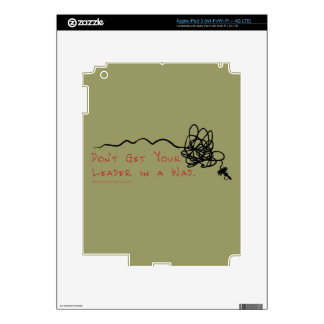 Fly Fishing Leader Skins For iPad 3