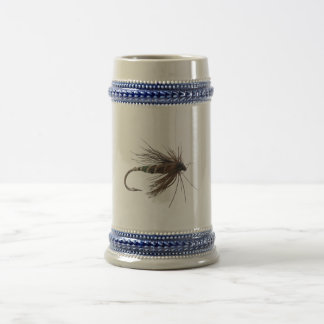 Fly Fishing Lure Beer Stein