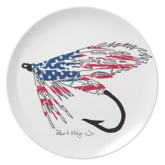 Fly Fishing Lure Plate