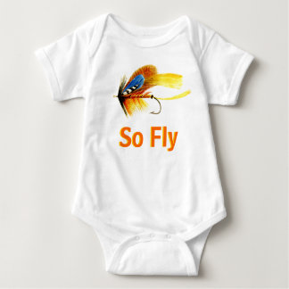 Fly Fishing Lure - So Fly Baby Bodysuit